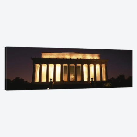 Lincoln Memorial Washington DC USA Canvas Print #PIM2730} by Panoramic Images Art Print