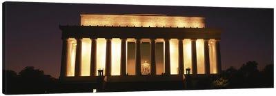 Lincoln Memorial Washington DC USA Canvas Print #PIM2730