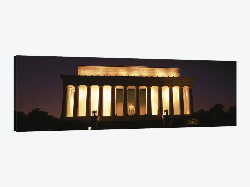 Lincoln Memorial Washington DC USA by Panoramic Images 1-piece Canvas Wall Art