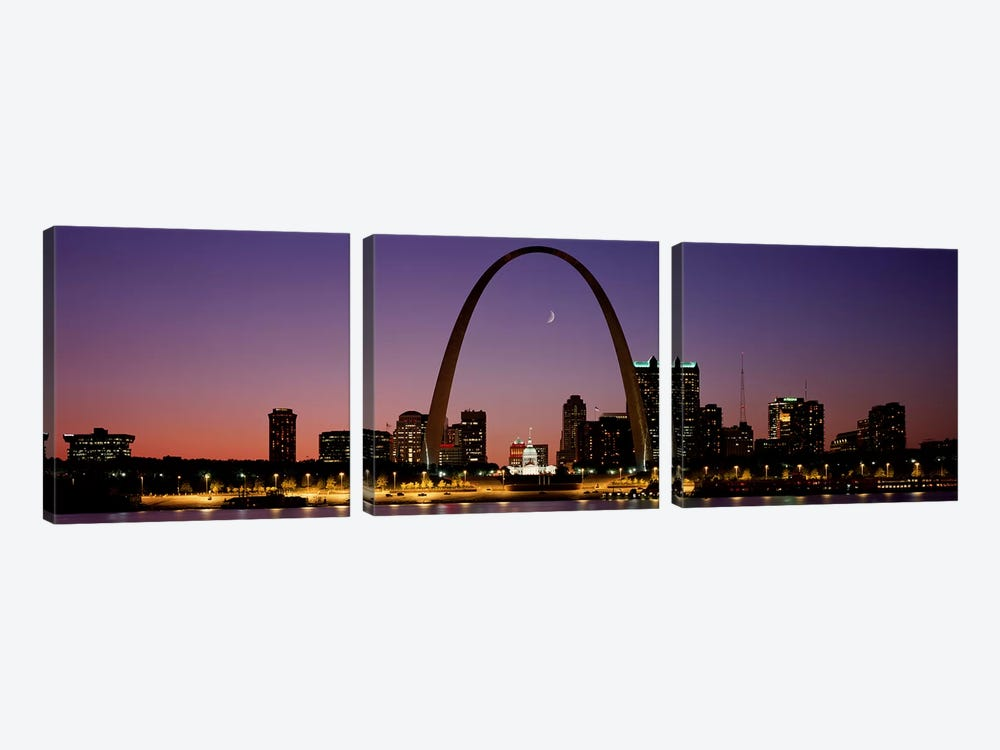 St Louis MO USA by Panoramic Images 3-piece Art Print