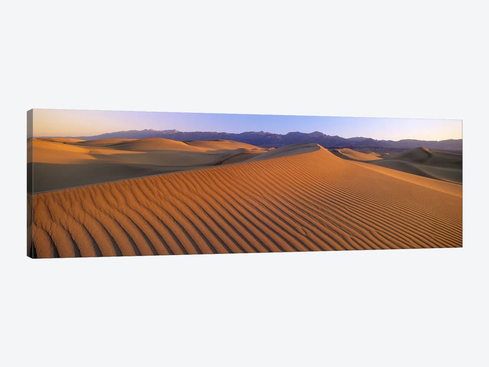 Windswept Sand Dunes, Death Valley National Park, USA by Panoramic Images 1-piece Canvas Artwork