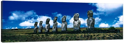 Easter Island Chile Canvas Art Print