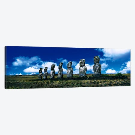 Easter Island Chile Canvas Print #PIM2735} by Panoramic Images Canvas Wall Art