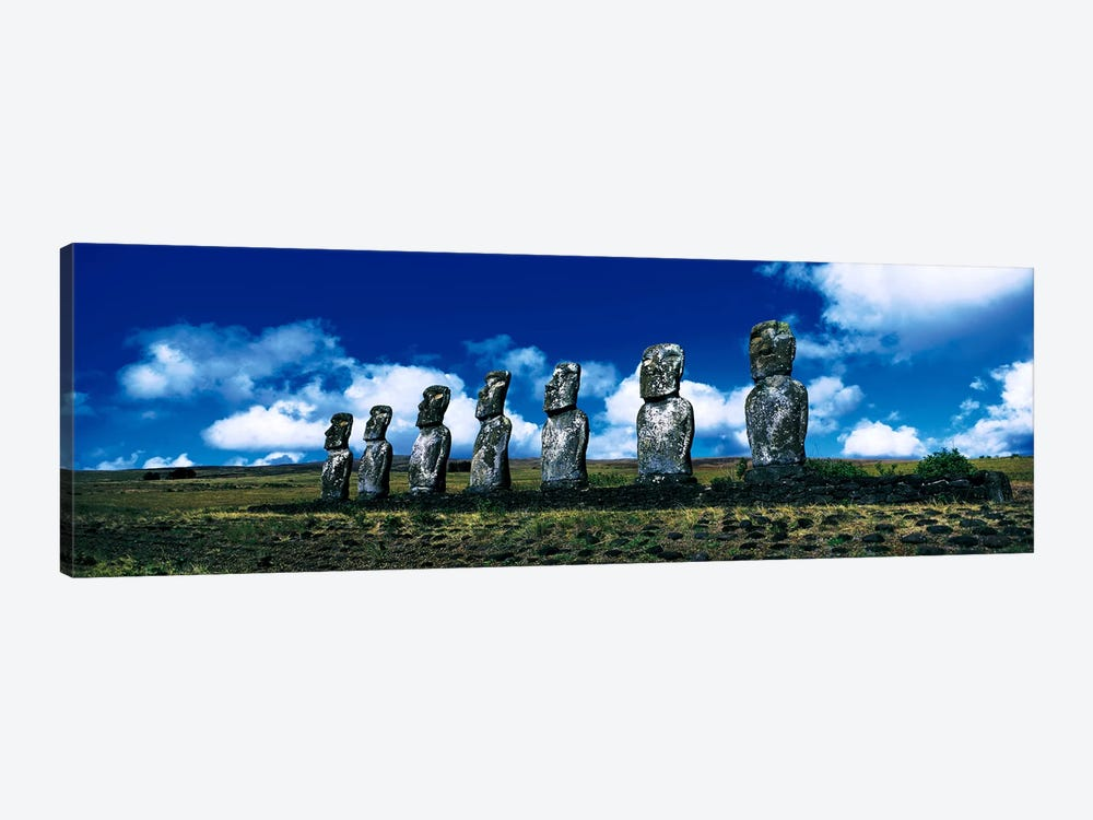 Easter Island Chile 1-piece Canvas Art Print