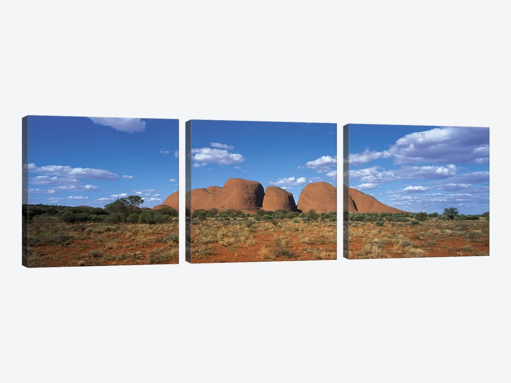 Olgas Australia by Panoramic Images 3-piece Canvas Wall Art
