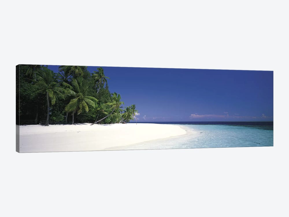 White Sand Beach Maldives by Panoramic Images 1-piece Canvas Art Print