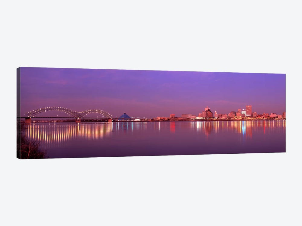 Night Memphis TN by Panoramic Images 1-piece Art Print