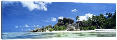 La Digue Seychelles Canvas Print #PIM2740