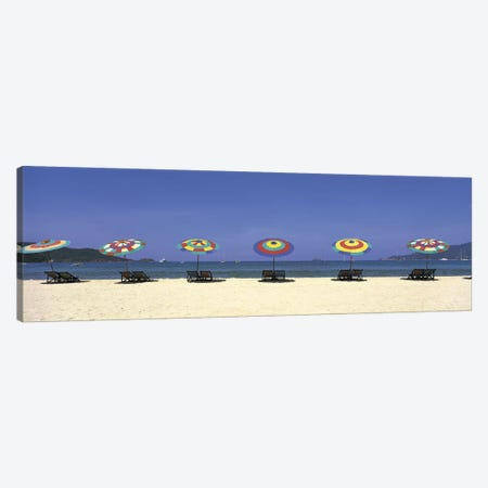 Beach Phuket Thailand Canvas Print #PIM2741} by Panoramic Images Canvas Art