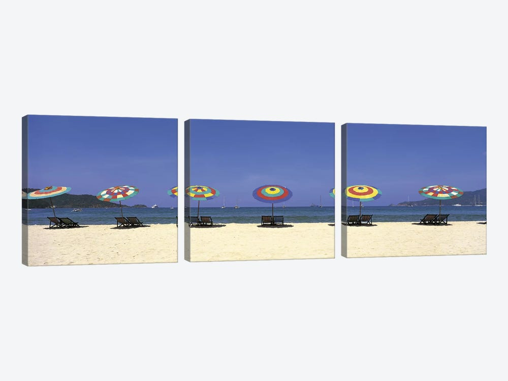 Beach Phuket Thailand by Panoramic Images 3-piece Canvas Wall Art