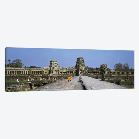 Angkor Wat Cambodia Canvas Print #PIM2742} by Panoramic Images Canvas Art