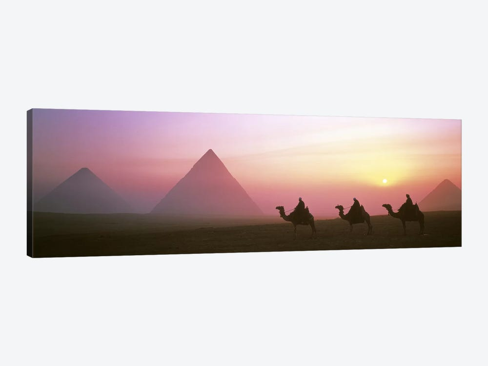 Giza Pyramids Egypt by Panoramic Images 1-piece Canvas Artwork