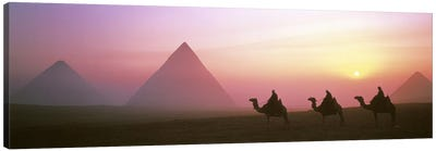 Giza Pyramids Egypt Canvas Art Print