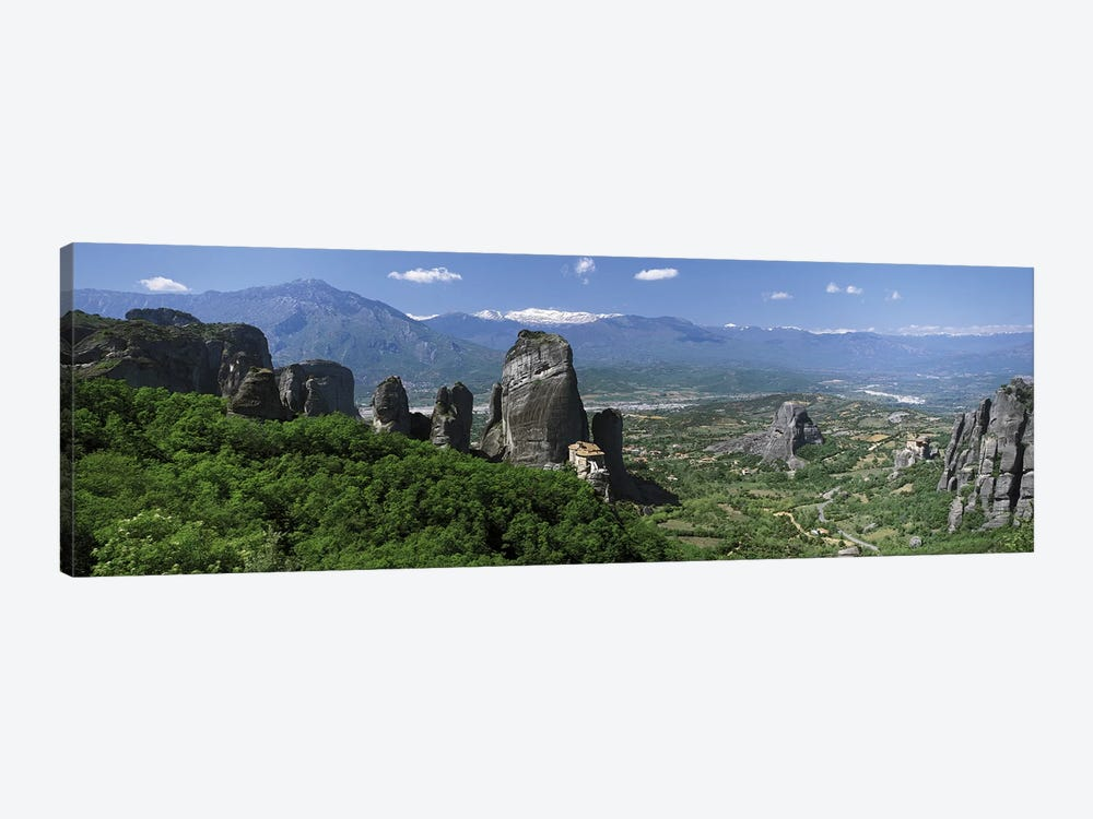 Meteora Monastery Greece by Panoramic Images 1-piece Art Print