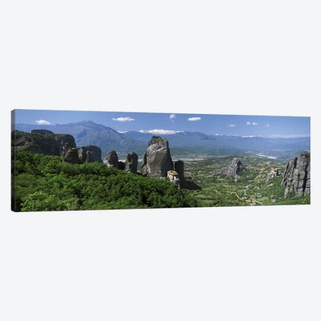 Meteora Monastery Greece Canvas Print #PIM2744} by Panoramic Images Canvas Art Print