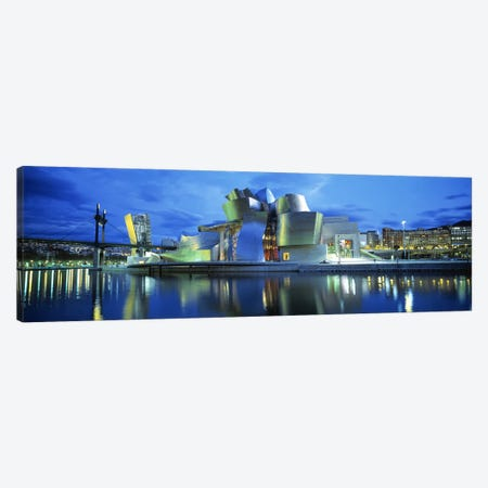 Guggenheim Museum, Bilbao, Biscay Province, Basque Country, Spain Canvas Print #PIM2746} by Panoramic Images Art Print