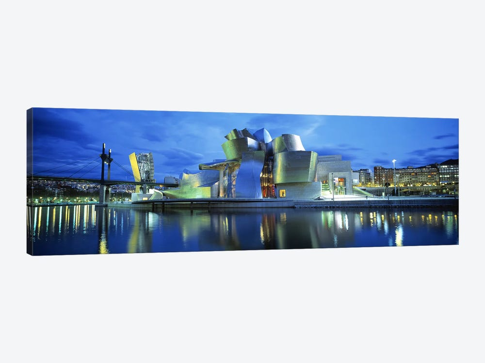 Guggenheim Museum, Bilbao, Biscay Province, Basque Country, Spain by Panoramic Images 1-piece Art Print