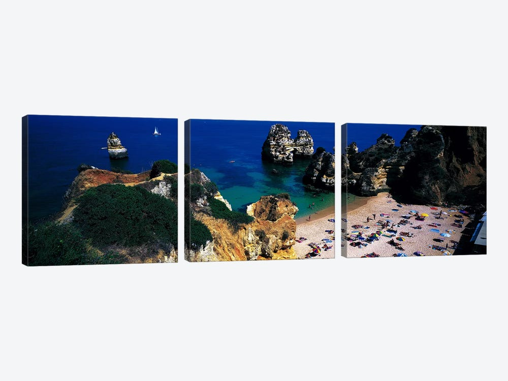 Algarve Portugal by Panoramic Images 3-piece Canvas Artwork