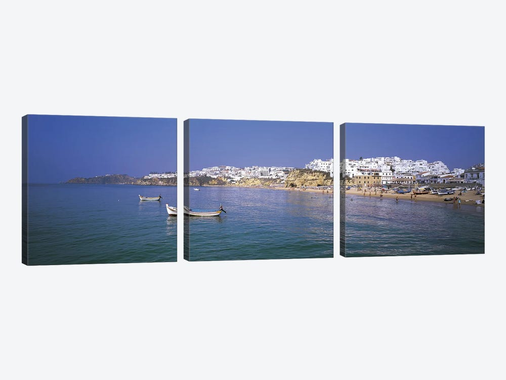 Albufeira Algarve Portugal by Panoramic Images 3-piece Canvas Print