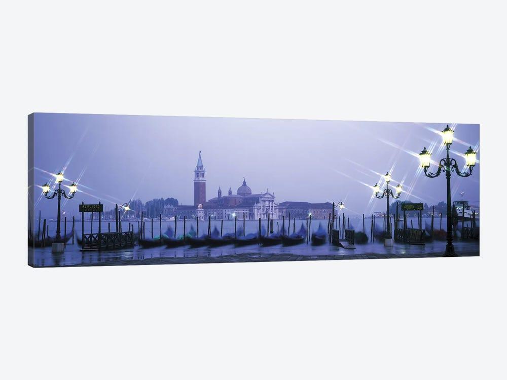 Gondolas San Giorgio Maggiore Venice Italy by Panoramic Images 1-piece Canvas Art Print