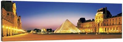 Louvre Paris France Canvas Print #PIM2753