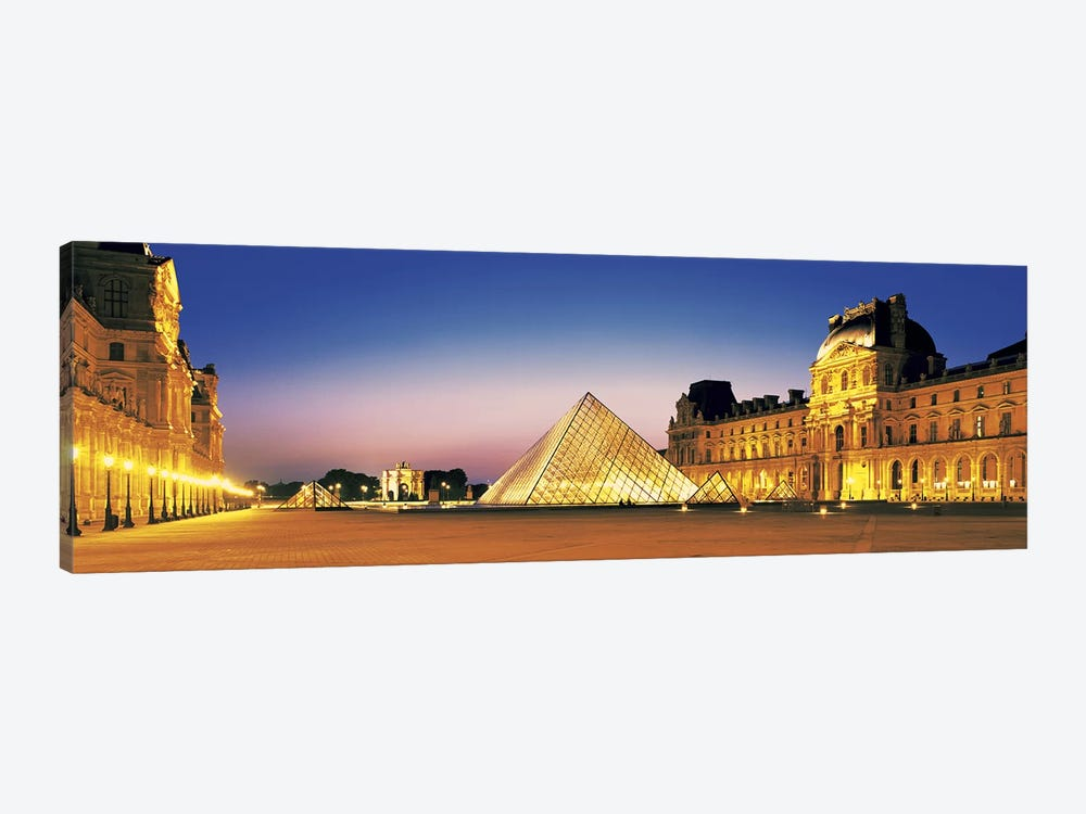 Louvre Paris France by Panoramic Images 1-piece Art Print