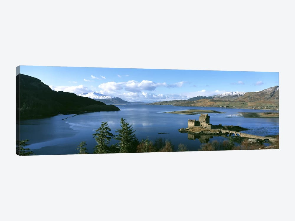 Eilean Donan Castle Scotland by Panoramic Images 1-piece Canvas Wall Art