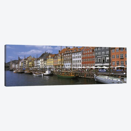 Nyhavn Copenhagen Denmark Canvas Print #PIM2755} by Panoramic Images Canvas Wall Art