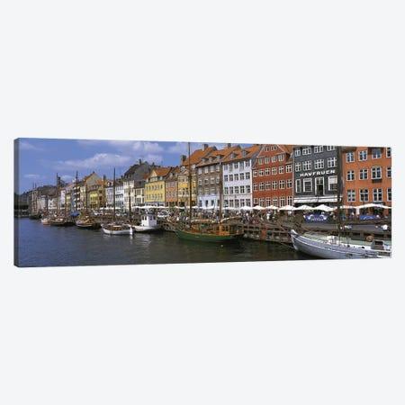 Nyhavn Copenhagen Denmark Canvas Print #PIM2755} by Panoramic Images Canvas Wall Art