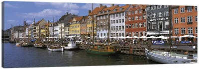 Nyhavn Copenhagen Denmark Canvas Art Print