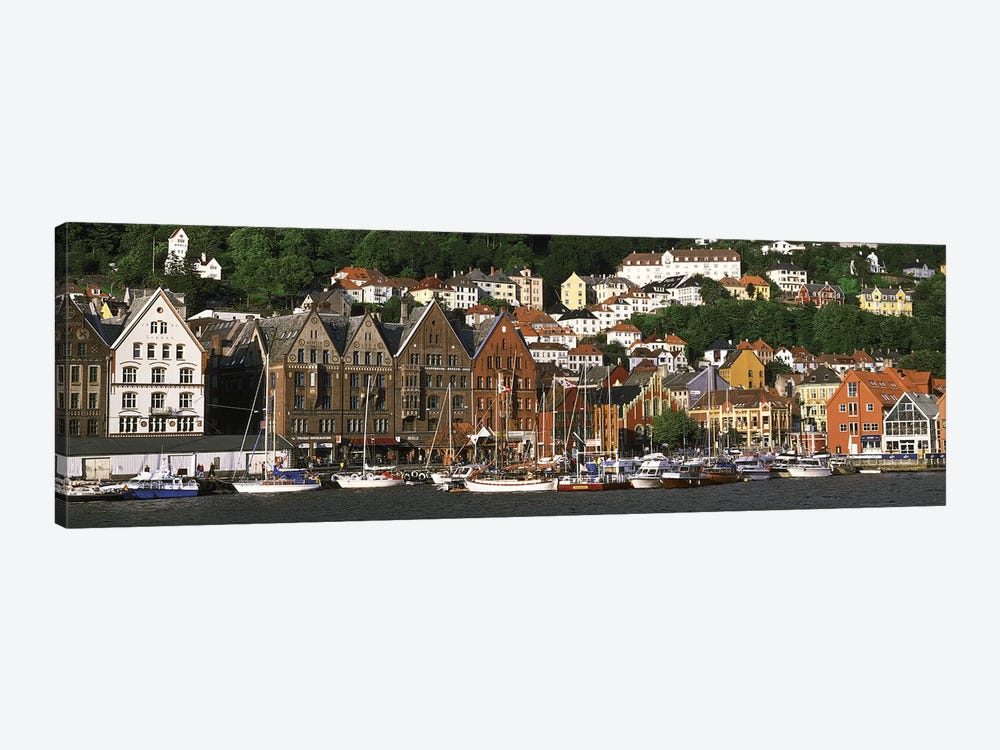 Bergen Norway by Panoramic Images 1-piece Canvas Art