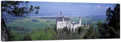 Neuschwanstein Palace Bavaria Germany Canvas Print #PIM2758