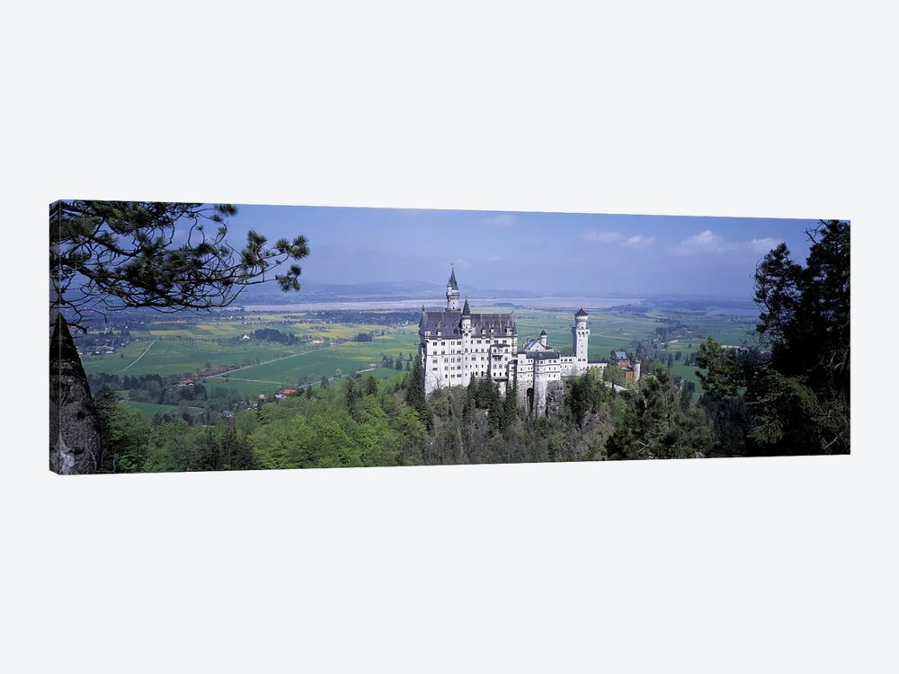 Neuschwanstein Palace Bavaria Germany by Panoramic Images 1-piece Canvas Art