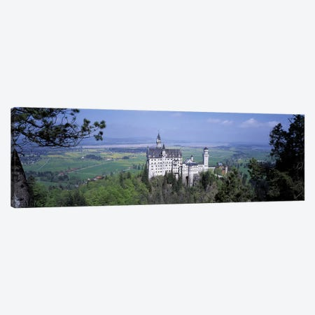 Neuschwanstein Palace Bavaria Germany Canvas Print #PIM2758} by Panoramic Images Canvas Print