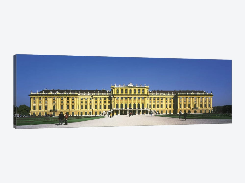 Schonbrunn Palace Vienna Austria by Panoramic Images 1-piece Canvas Print