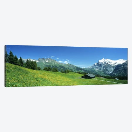 Grindelwald Switzerland Canvas Print #PIM2760} by Panoramic Images Canvas Art
