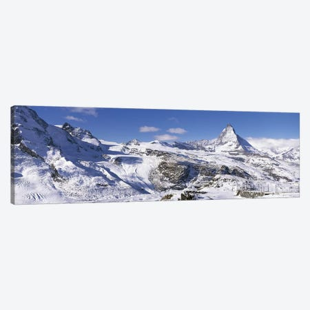 Matterhorn Switzerland Canvas Print #PIM2761} by Panoramic Images Canvas Art
