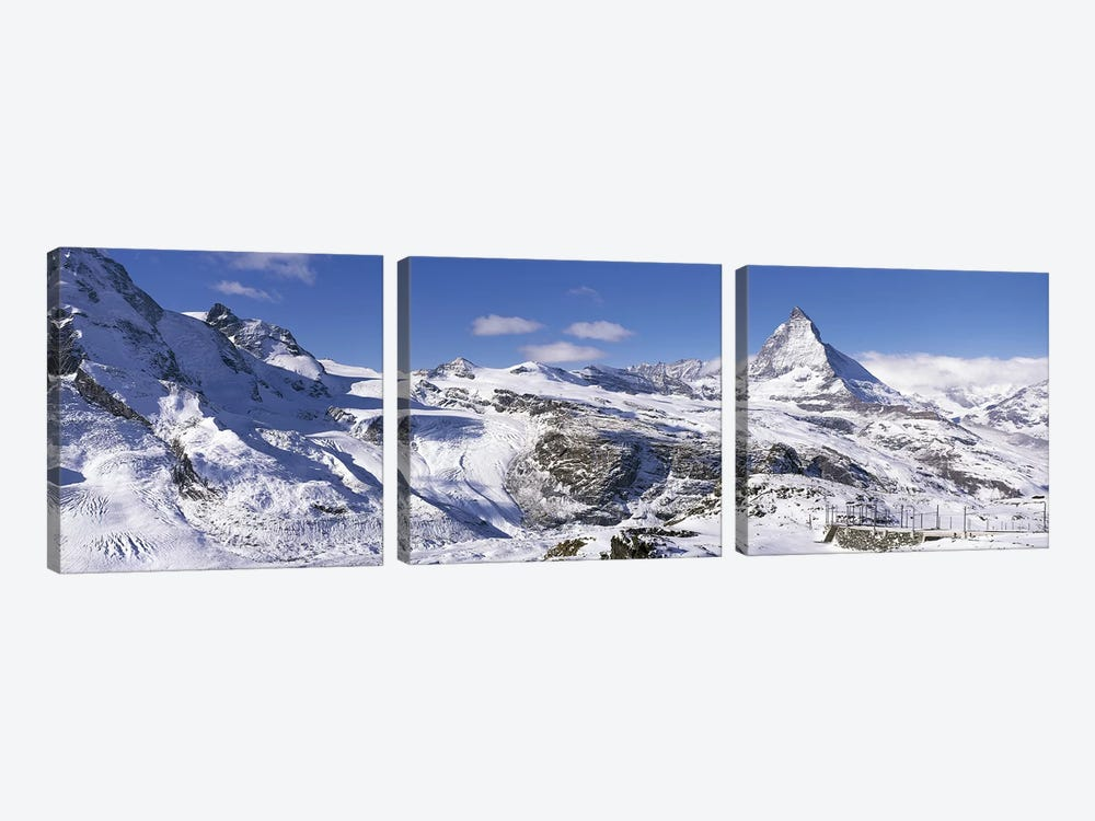 Matterhorn Switzerland by Panoramic Images 3-piece Canvas Art