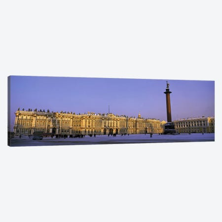 The State Hermitage Museum St Petersburg Russia Canvas Print #PIM2764} by Panoramic Images Art Print