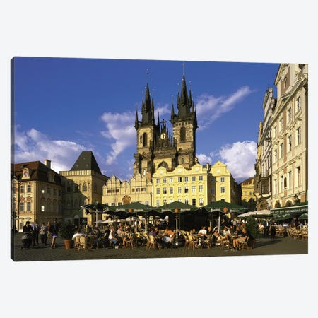 Prague Czech Republic Canvas Print #PIM2765} by Panoramic Images Canvas Print
