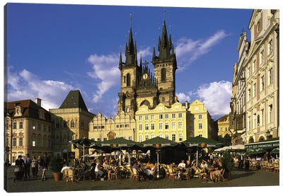 Prague Czech Republic Canvas Art Print