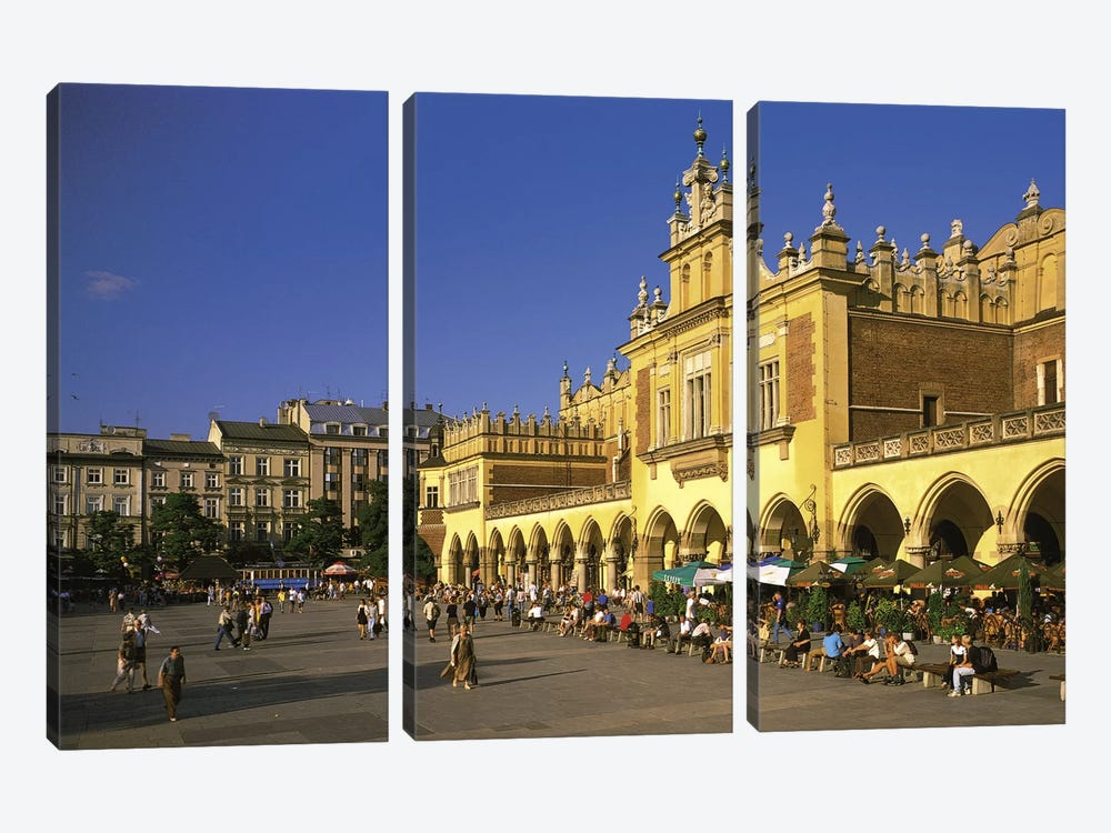 Cracow Poland by Panoramic Images 3-piece Canvas Print