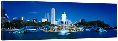 Buckingham Fountain Chicago IL USA Canvas Art Print