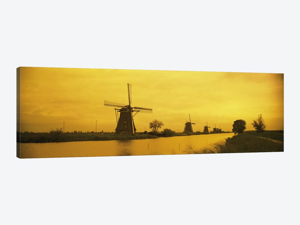 Windmills Netherlands #2 by Panoramic Images 1-piece Canvas Wall Art
