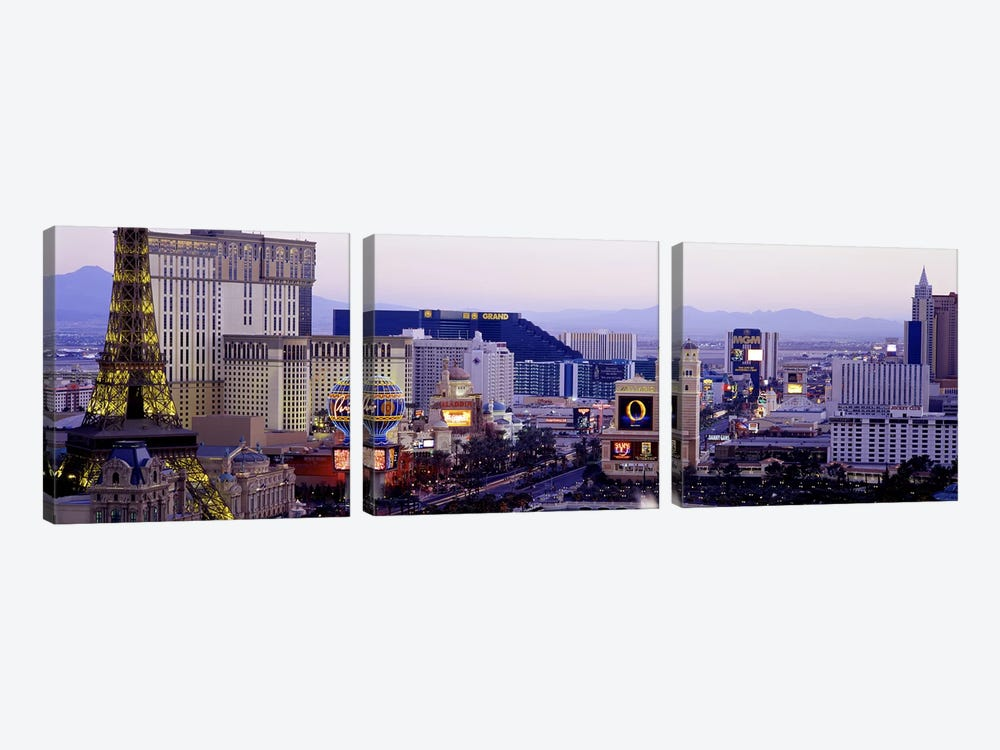 Las Vegas NV USA by Panoramic Images 3-piece Canvas Wall Art