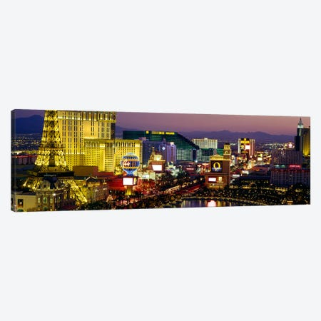 Las Vegas, Nevada, USA Canvas Print #PIM2773} by Panoramic Images Canvas Art Print
