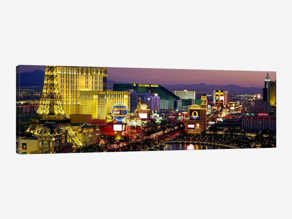 Las Vegas, Nevada, USA by Panoramic Images 1-piece Canvas Art Print
