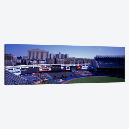 Yankee Stadium NY USA Canvas Print #PIM2774} by Panoramic Images Canvas Wall Art