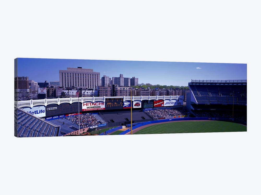 Yankee Stadium NY USA by Panoramic Images 1-piece Canvas Artwork