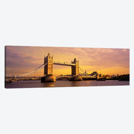 Tower Bridge London England Canvas Print #PIM2777} by Panoramic Images Canvas Art